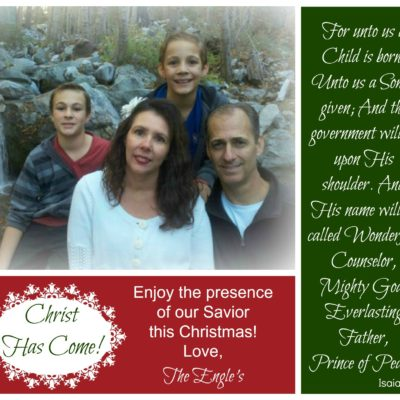 From My Family to Yours….