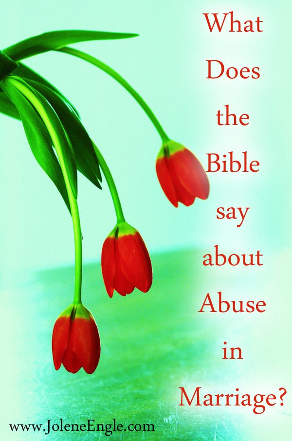 what does the bible say about an abusive husband