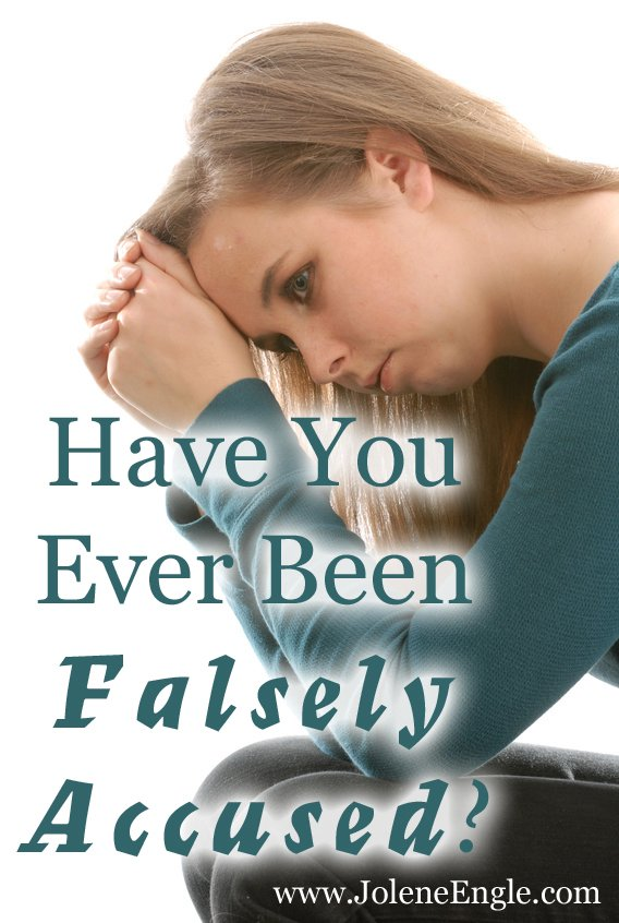 What to do if someone falsely accuses you