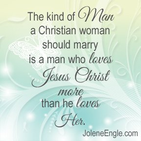 Should a christian woman dating a non christian man