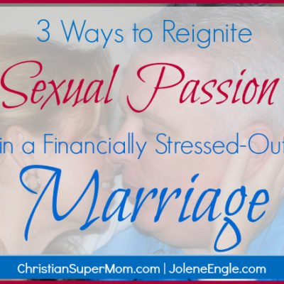 Day 14: 3 Ways to Reignite Sexual Passion in a Financially Stressed-Out Marriage