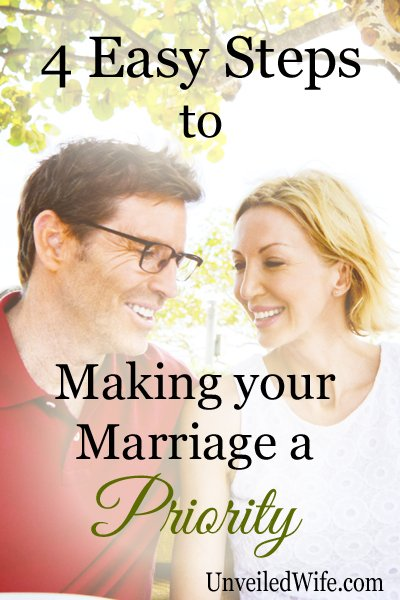 Making Marriage a Priority copy