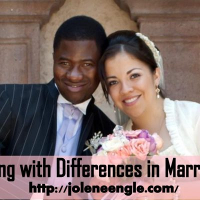 Day 18: Differences in Marriage are Always There