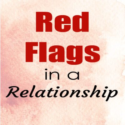 Red Flags in a Relationship
