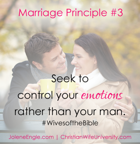 Marriage Principle #3 from the Wives of the Bible by Jolene Engle