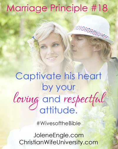 Marriage Principle #18 from the life of Pontius Pilate's Wife- Wives of the Bible by Jolene Engle