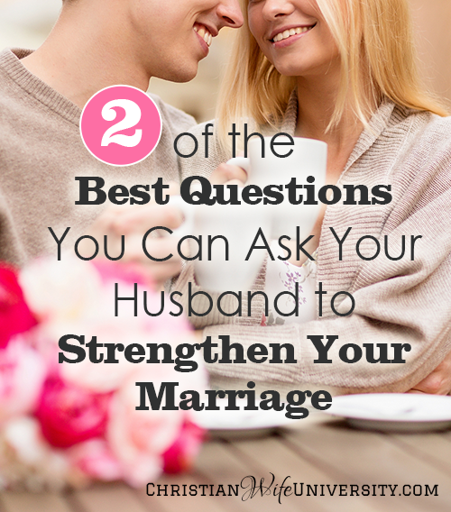 10 questions to strengthen your relationship