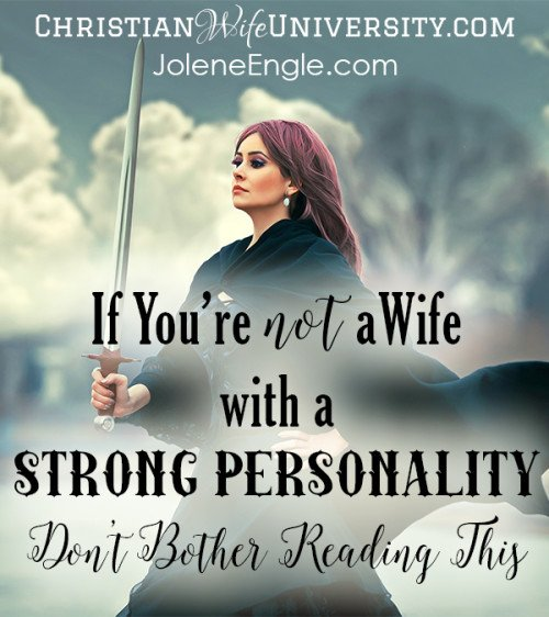 how to deal with a strong personality in a relationship