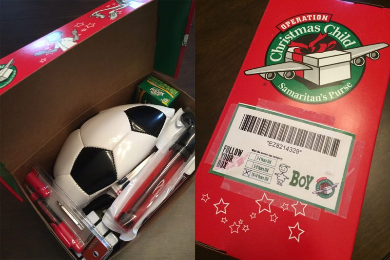 I Packed a Shoebox- here's how you can show the love of Jesus to others!