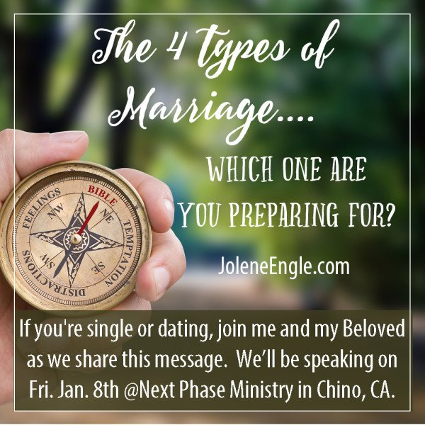 The 4 Types of Marriage...which one are you preparing for?